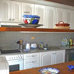 Dénia Ferienhaus Küche
