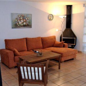Dénia Ferienhaus Wohnzimmer